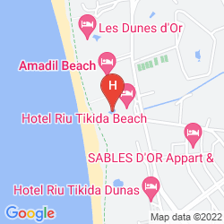 Plan RIU TIKIDA BEACH - ADULTS ONLY