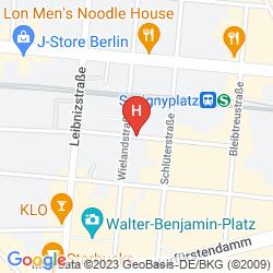 Plan HOTEL PENSION ELEGIA
