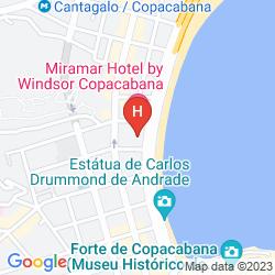 Plan GRAND MERCURE RIO DE JANEIRO COPACABANA