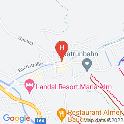 Plan HOTEL HALLER