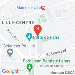 Plan IBIS STYLES LILLE CENTRE BEFFROI