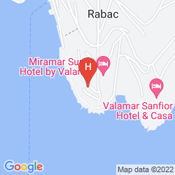 Plan HOTEL MARINA RABAC