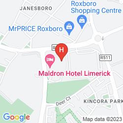 Plan MALDRON HOTEL LIMERICK