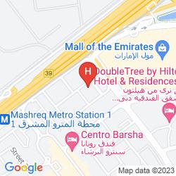 Plan NOVOTEL SUITES DUBAI MALL OF THE EMIRATES