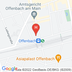 Plan CENTRAL-HOTEL OFFENBACH