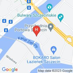 Plan HOTEL RESTAURACJA PODZAMCZE