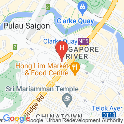 Plan FURAMA CITY CENTRE