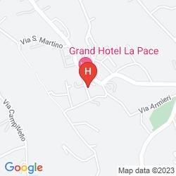 Plan GRAND HOTEL LA PACE