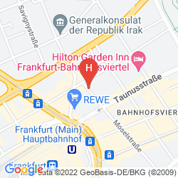 Plan MOSEL HOTEL FRANKFURT