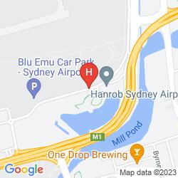 Plan IBIS BUDGET SYDNEY AIRPORT