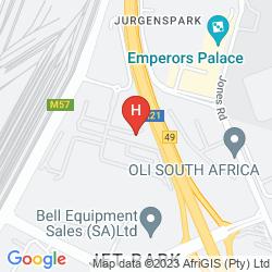 Plan PEERMONT METCOURT SUITES AT EMPERORS PALACE