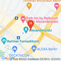 Plan PARK INN BY RADISSON BERLIN ALEXANDERPLATZ