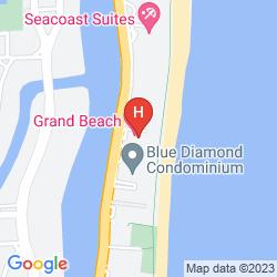 Plan GRAND BEACH HOTEL MIAMI BEACH