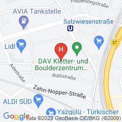 Plan MERCURE STUTTGART ZUFFENHAUSEN