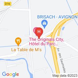 Plan INTER HOTEL DU PARC AVIGNON