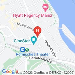 Plan IBIS MAINZ CITY