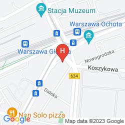 Plan RADISSON BLU SOBIESKI HOTEL, WARSAW