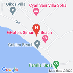 Plan CALIMERA SIMANDRO BEACH