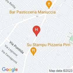Plan LA PEONIA BED & BREAKFAST DI CHARME