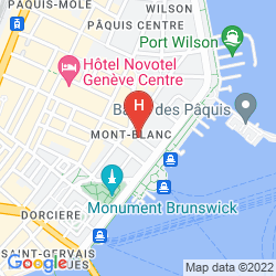 Plan HOTEL DES ALPES