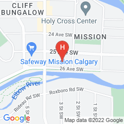 Plan CALGARY WESTWAYS GUEST HOUSE