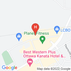 Plan BEST WESTERN BARONS HOTEL & CONFERENCE CENTER