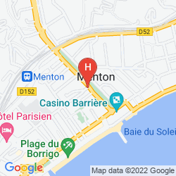 Plan HOTEL MODERNE