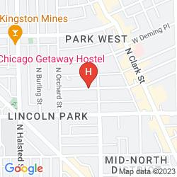Plan CHICAGO GETAWAY HOSTEL