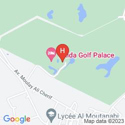 Plan TIKIDA GOLF PALACE