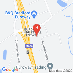 Plan CAMPANILE HOTEL BRADFORD