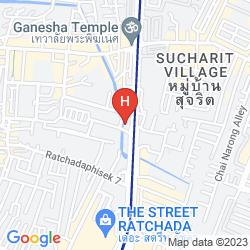 Plan THE EMERALD HOTEL BANGKOK