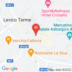 Plan HOTEL ROMANDA