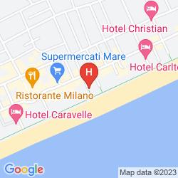 Plan HOTEL MIRAFIORI