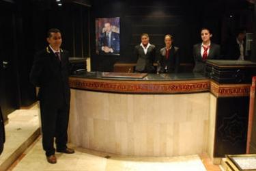 Hotel Anfa Port: Lobby CASABLANCA