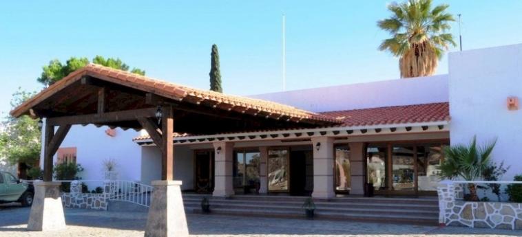 Hotel Mision Catavina: Solarium CATAVINA - BAJA CALIFORNIA