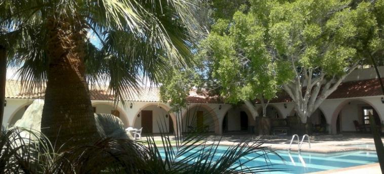 Hotel Mision Catavina: Veranda CATAVINA - BAJA CALIFORNIA