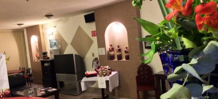 Hotel Cano: Lobby CELAYA