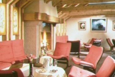 Hotel Prieure: Lounge Bar CHAMONIX-MONT-BLANC