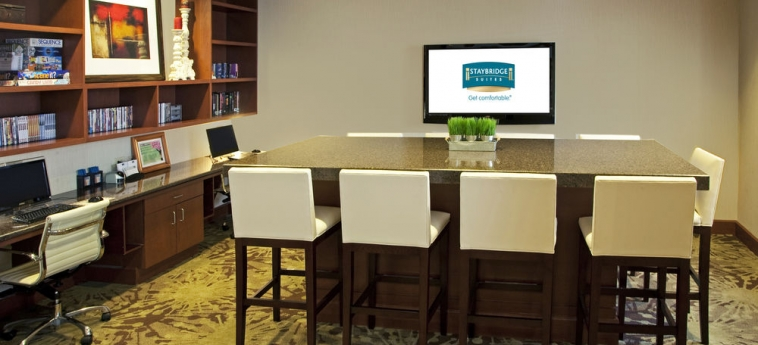 Hotel Staybridge Suites Chantilly Fairfax: Business Centre CHANTILLY (VA)