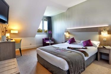 Hotel Best Western Du Parc: Stanza degli ospiti CHANTILLY