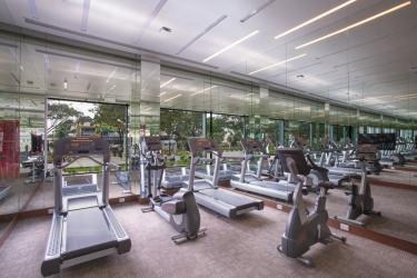 Hotel Holiday Inn Express Mahindra World City: Gimnasio CHENGALPATTU