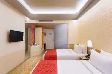 Hotel Holiday Inn Express Mahindra World City: Camera degli ospiti CHENGALPATTU