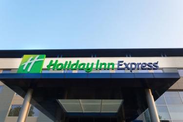 Hotel Holiday Inn Express Mahindra World City: Esterno CHENGALPATTU