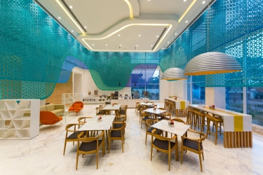 Hotel Holiday Inn Express Mahindra World City: Ristorante CHENGALPATTU