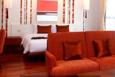 Sibsan Luxury Hotel Rimping: Freitreppe CHIANG MAI