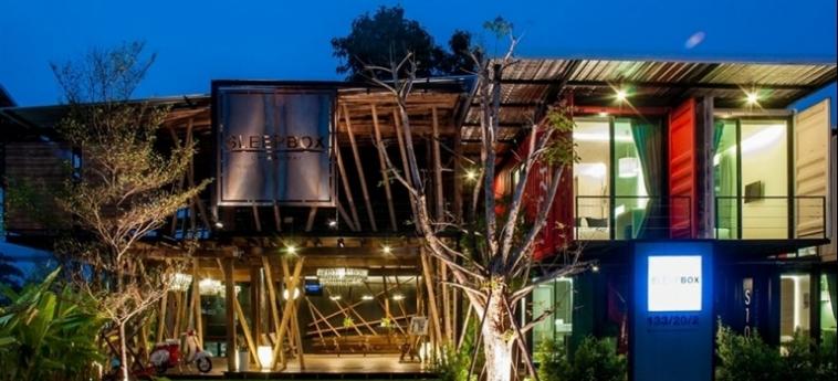 Hotel Sleepbox Chiangmai: Trullo CHIANG MAI