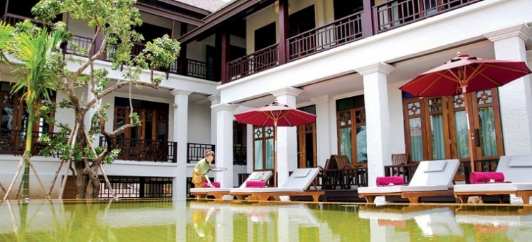 Hotel The Balcony Chiang Mai Village: Außenschwimmbad CHIANG MAI