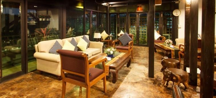 Hotel Wiang Chang Klan Boutique: Balcony CHIANG MAI