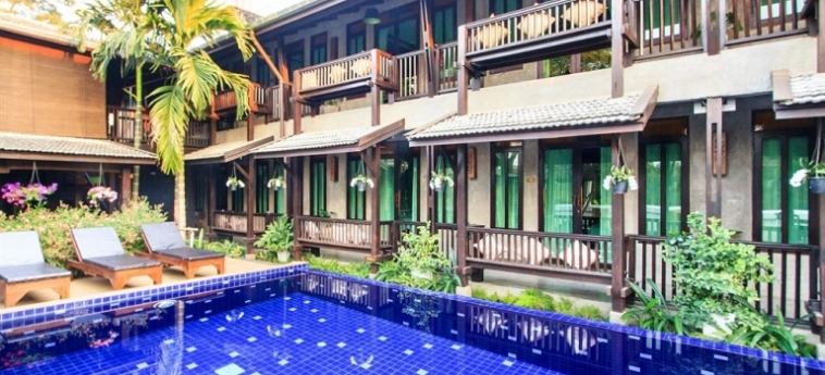 Hotel Wiang Chang Klan Boutique: Bunk-Bed Room CHIANG MAI