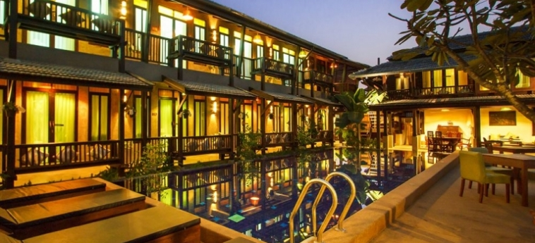 Hotel Wiang Chang Klan Boutique: Swimming Pool CHIANG MAI